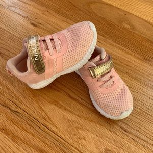Nautical pink sneakers